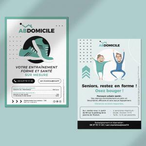 Flyer pour Abdomicile